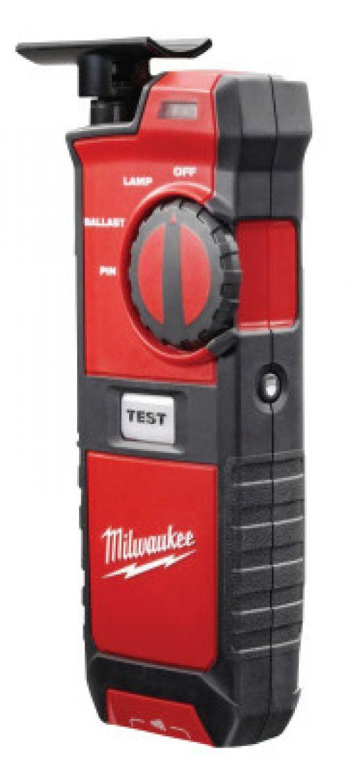 MILWAUKEE ELECTRIC TOOLS Fluorescent Lighting Tester, AA Batteries