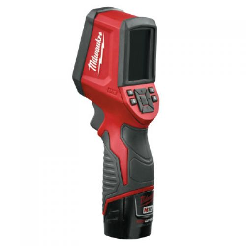 MILWAUKEE ELECTRIC TOOLS M12 Thermal Imager Kit, 14 °F - 626°F
