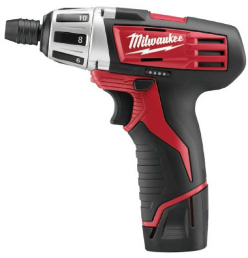 MILWAUKEE ELECTRIC TOOLS 12V Sub-Compact Driver Drills, 1/4 in Chuck, 1 in lb Torque
