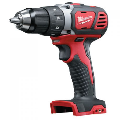 """MILWAUKEE ELECTRIC TOOLS M18 Compact Cordless 1/2"""" Drill Driver - Bare, 1,800 rpm, 500 in lb Torque"""