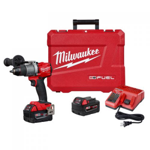 MILWAUKEE ELECTRIC TOOLS M18 FUEL 1/4 in Hex Impact Driver Kits, 3600 rpm, 2000 in lb