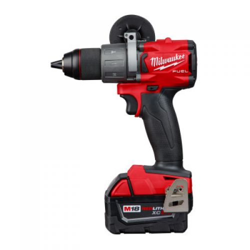 MILWAUKEE ELECTRIC TOOLS M18 FUEL Hammer Drill/Driver Kits, 1/2 in, Ratcheting, 2,000 rpm, Trigger