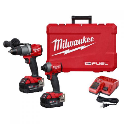 MILWAUKEE ELECTRIC TOOLS M18 FUEL 2-Tool Combo Kits, 2000 rpm, 1200 in lb