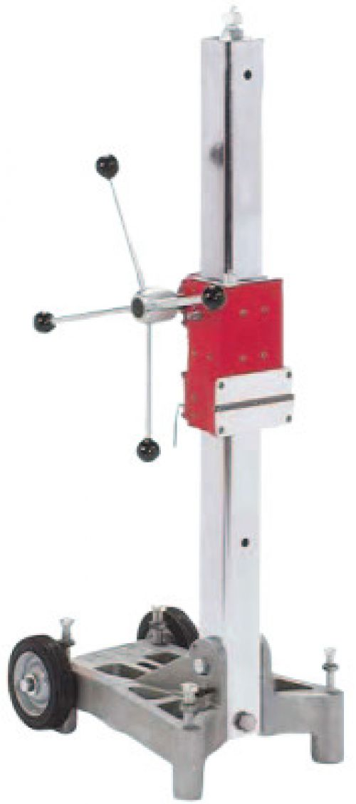 MILWAUKEE ELECTRIC TOOLS Diamond Coring Base Stands, 250 rpm, 1 1/4 in; 1/2 in; 3/4 in Cut Cap., Morse