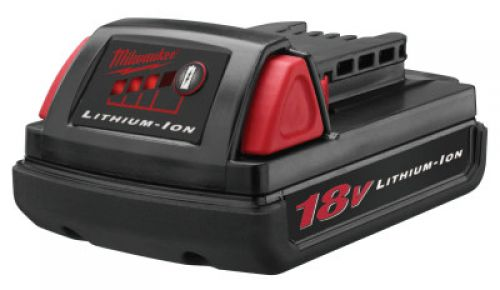 MILWAUKEE ELECTRIC TOOLS 18V Compact Batteries, 18 V Lithium-Ion