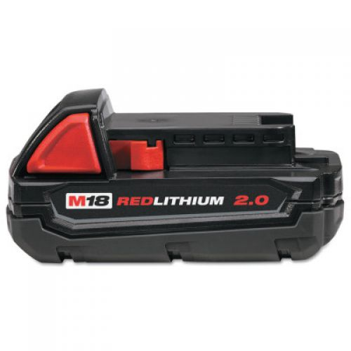 MILWAUKEE ELECTRIC TOOLS M18 REDLITHIUM 2.0 Compact Battery Packs, 18 V