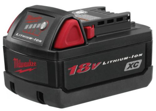 MILWAUKEE ELECTRIC TOOLS 18V XC High Capacity Batteries, 18 VDC Lithium Ion