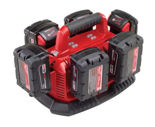 MILWAUKEE ELECTRIC TOOLS M18 6 bay Charger