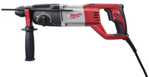 MILWAUKEE ELECTRIC TOOLS SDS Plus Rotary Hammers, 1 in Drive, D-Handle