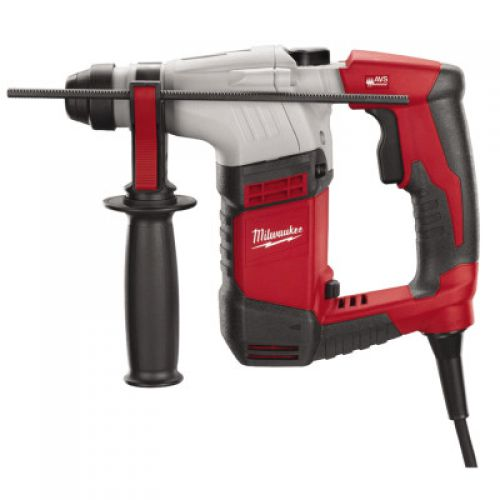 MILWAUKEE ELECTRIC TOOLS SDS Plus Rotary Hammers, 5/8 in Drive, Back D-Handle/Side Rod