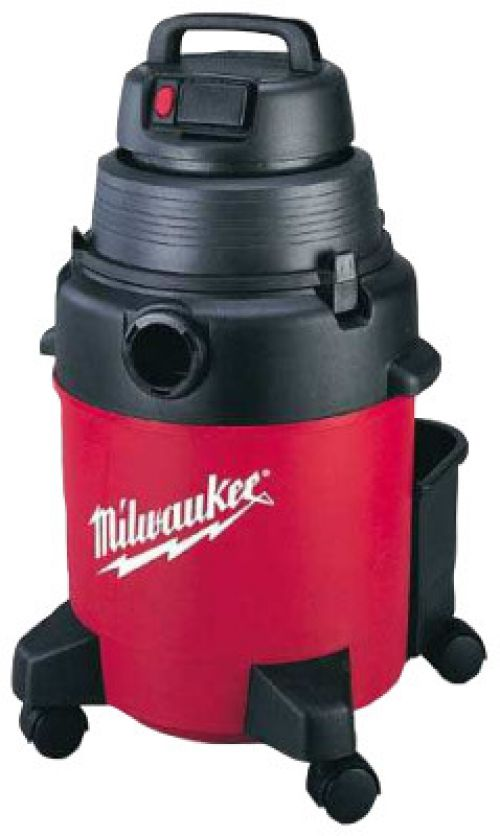 MILWAUKEE ELECTRIC TOOLS Poly Tank Vacuum Cleaners, 7 1/2 gal