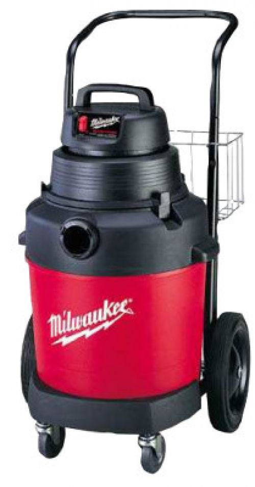MILWAUKEE ELECTRIC TOOLS Poly Tank Vacuum Cleaners, 9 gal