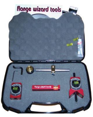 FLANGE WIZARD Lil' Wiz Tool Kits, Repair Kit; Circle Wiz; Level; Tape Holder; Centering Head