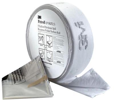 3M Petroleum Sorbent Spill Kit P-SKFL5, Environmental Safety Product, Petroll