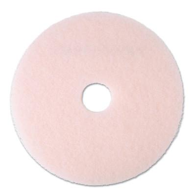 "3M Ultra High-Speed Eraser Floor Burnishing Pad 3600, 20"" Diameter, Pink"