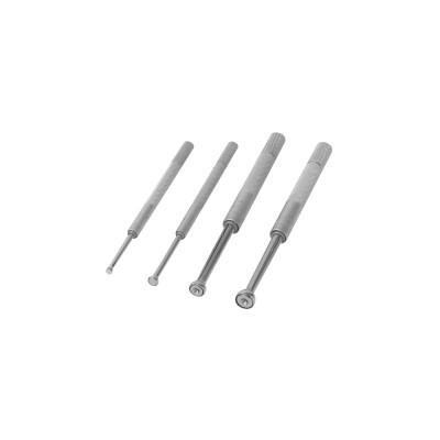 MITUTOYO Series 154 Small Hole Gage Set, 0.125-0.5 in, 4 Pc.