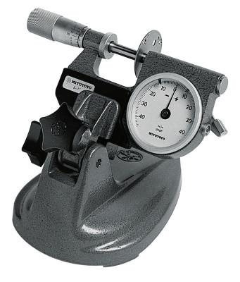 MITUTOYO Micrometer Stand for Micrometers up to 4 in; Mic Stand, 0-4""