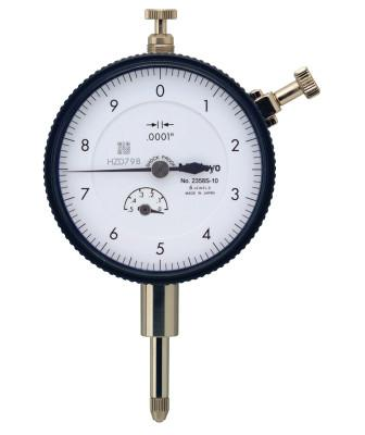 MITUTOYO Series 2 Standard Dial Indicators, 0-10 Dial, 0.5 in Range