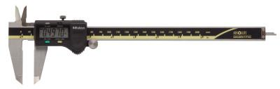 MITUTOYO Series 500 Standard Digimatic Calipers w/Thumb Roller, 0-8 in, Carbide, W/O SPC