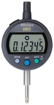 "MITUTOYO ID-C Standard Type Digimatic Indicators, 0.5"" Range, Less than 1.5N Meas. Force"