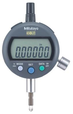 MITUTOYO ID-C Standard Type Digimatic Indicators, 0.5 in Range, 0.4-0.7 N Measuring Force