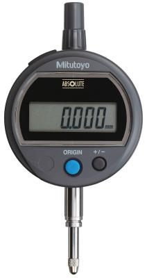 MITUTOYO Digital Indicators ID-S Solar, 12.7 mm Range, Lug Back