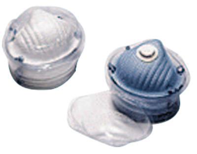MOLDEX Respirator Locker, 2-Strap, Non-Oil Based Particulates, Medium/Large, 5/display