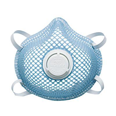 MOLDEX 2300 Series N95 Particulate Respirators, Half-facepiece, 2-Strap, Small