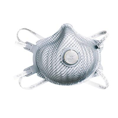 MOLDEX N99 Premium Particulate Respirators, Half Facepiece, Adj Strap, M/L, 10/bag
