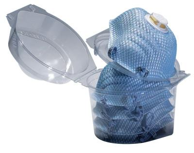 MOLDEX Respirator Locker, 2-Strap, Non-Oil Based Particulates, Med/Large