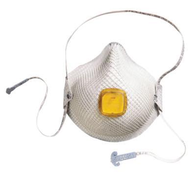 MOLDEX 2800 S HandyStrap N95 Particulate Respirators, Half-face piece, M/L