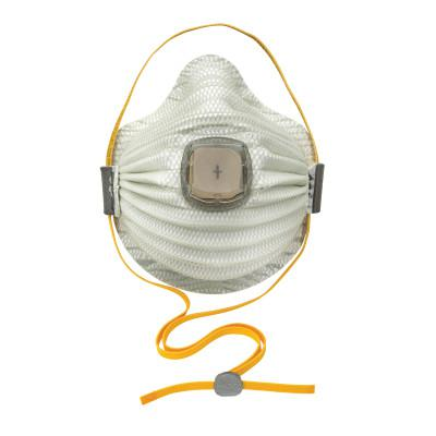 MOLDEX Airwave N100 Disposable Particulate Respirator, Non-Oil Based, M/L