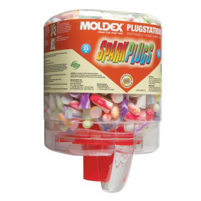 MOLDEX PlugStation Earplug Dispensers, Foam, Uncorded