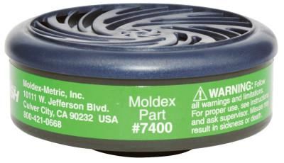 MOLDEX 7000 & 9000 Series Gas/Vapor Cartridges, Ammonia/Methylamine