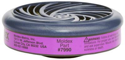 MOLDEX 7000 & 9000 Series Particulate Cartridges, Oil/Non-Oil Particulate, P100