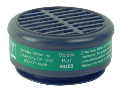 MOLDEX 8000 Series Gas/Vapor Cartridges, Ammonia/Methylamine