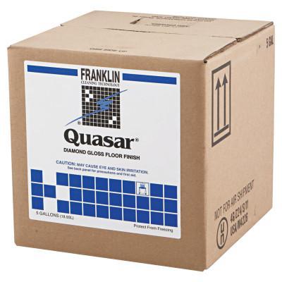 FRANKLIN CLEANING TECHNO Quasar High Solids Floor Finish, 5gal Box