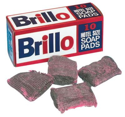 FRANKLIN (BOX/10) BRILLO HOTEL SOAP PAD PAD SIZE 3 1/2""