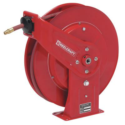 REELCRAFT Heavy Duty Spring Retractable Hose Reels, 3/8 in x 50 ft