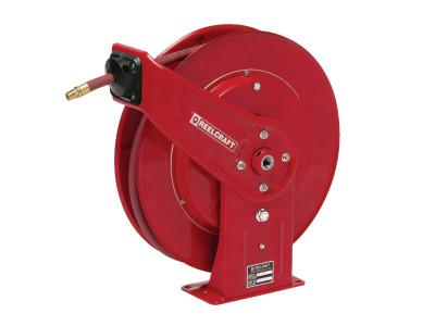 REELCRAFT Heavy Duty Spring Retractable Hose Reels, 3/8 in x 70 ft