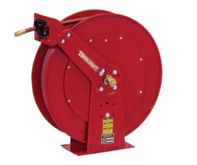 REELCRAFT Heavy Duty Spring Retractable Hose Reels, 1/2 in x 100 ft