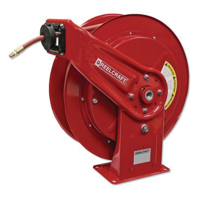REELCRAFT Heavy Duty Spring Retractable Hose Reels, 3/8 in x 75 ft