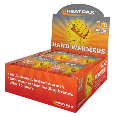 OCCUNOMIX Hot Rods Hand and Foot Warmer, 1.9 in, Iron Powder;Activated Carbon;Sodium Chloride;Cellulose;Water, White