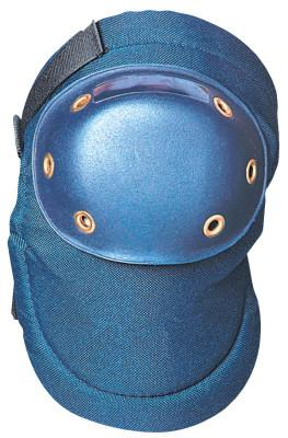 OCCUNOMIX Value Contoured PE Small Hard Cap Knee Pads, Adjustable Hook and Loop, Blue