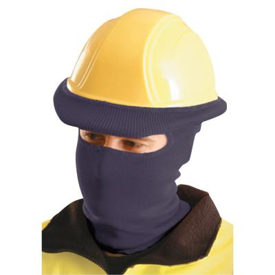 OCCUNOMIX Hard Hat Liners, Polyester, Navy Blue