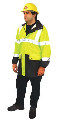 OCCUNOMIX Breathable Foul Weather Coats, X-Large, Yellow