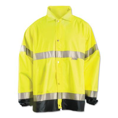 OCCUNOMIX Premium Breathable Jackets, Polyester, Small, Yellow