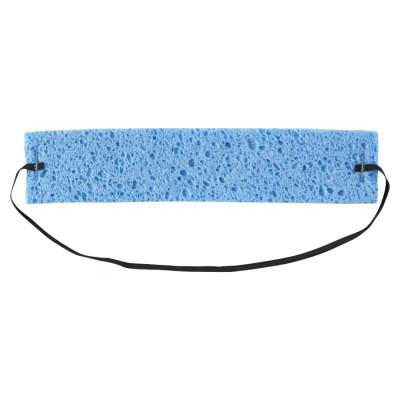 OCCUNOMIX Disposable Sweatbands, Cellulose, Blue