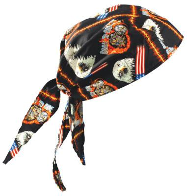 OCCUNOMIX Tuff Nougies Deluxe Tie Hats, One Size, Motorcycle