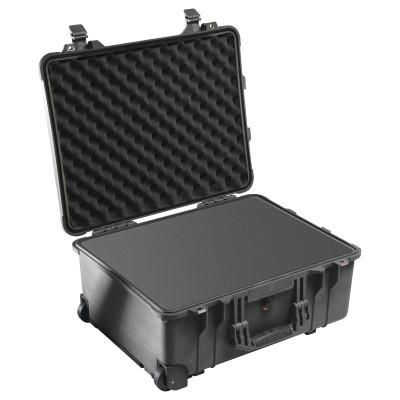 PELICAN Protector Mobility Cases, 0.96cu ft, 23.55 in x 14.36 in x 10.62 in, Black